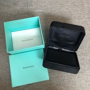 Tiffany &Co. gift box with necklace box